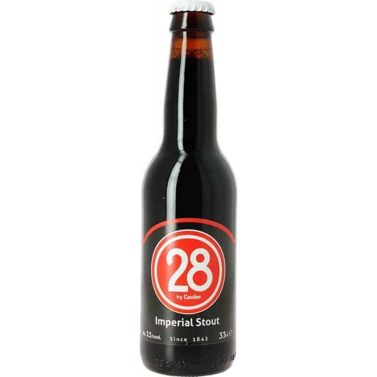 caulier 28 imperial stout cerveza