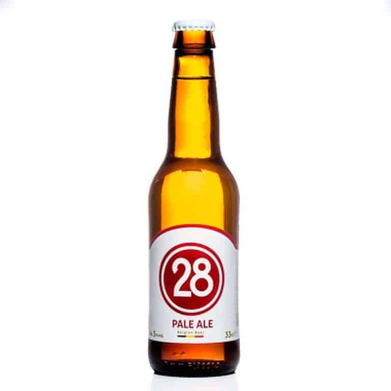 Caulier 28 pale ale cerveza