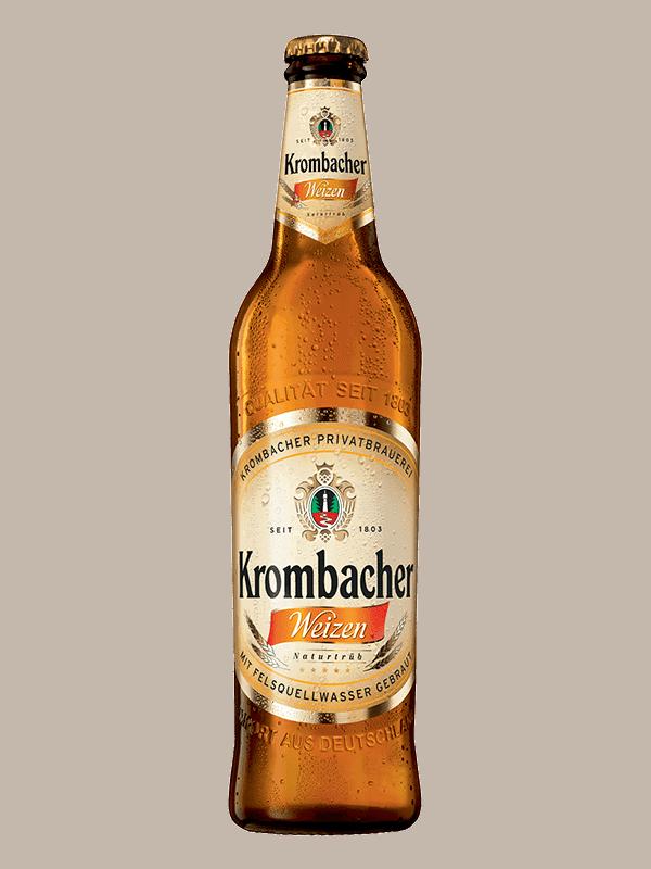 Krombacher Weizen cerveza