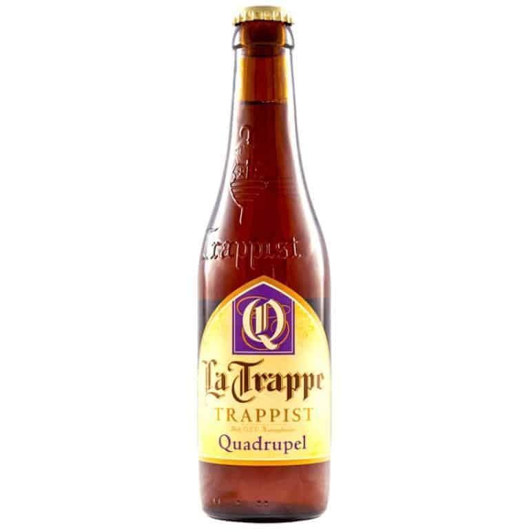 La Trappe Quadruppel cerveza