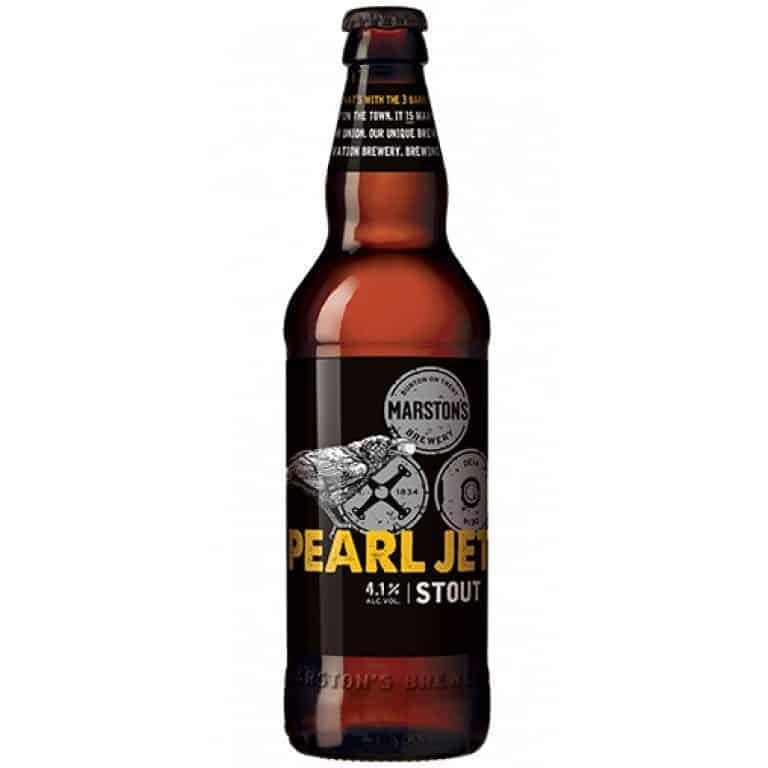 Marston Pearl Jet Stout cerveza 50 cl