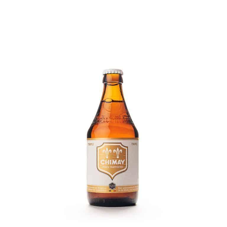 chimay blanca cerveza
