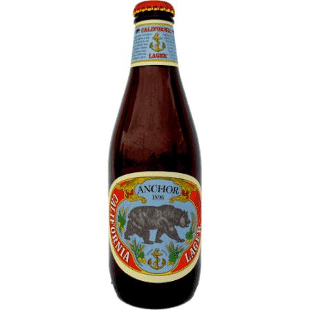 Anchor California Lager cerveza 35,5 cl