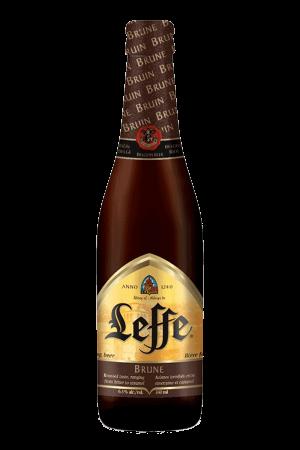 Leffe Brune cerveza