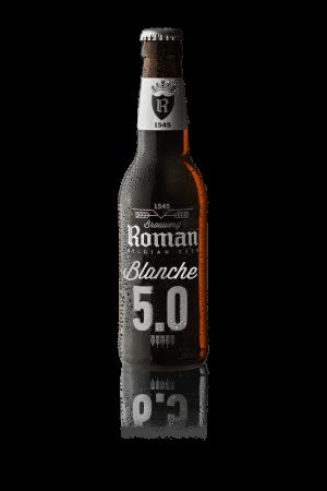 Roman blanche cerveza