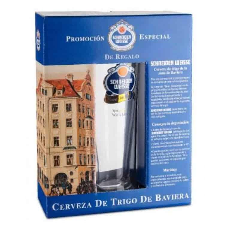 Schneider Weisse 2 botellas + vaso