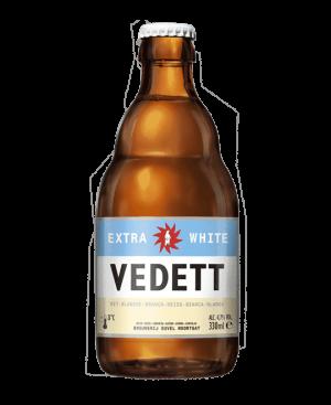 vedett extra white cerveza