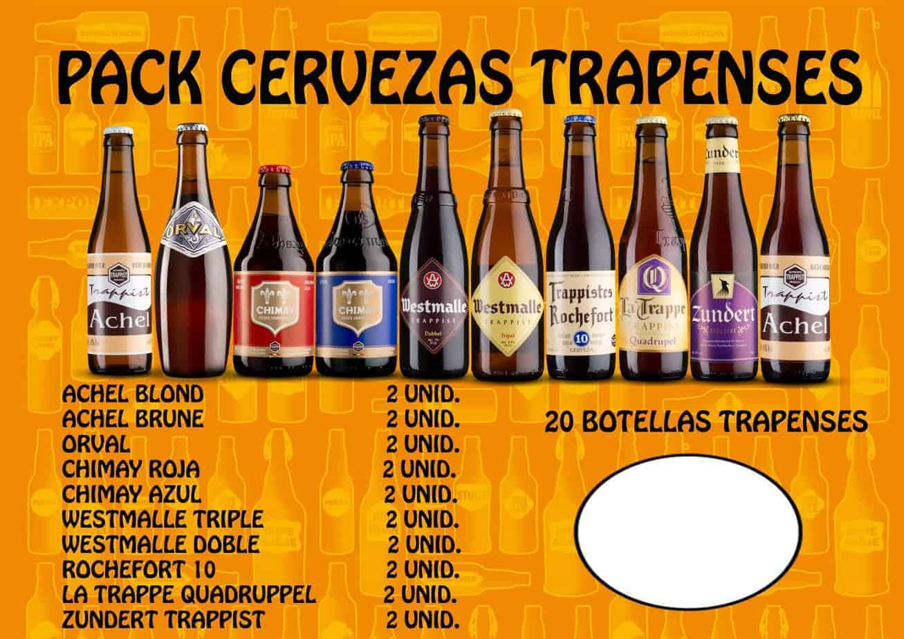 pack de cervezas trapenses