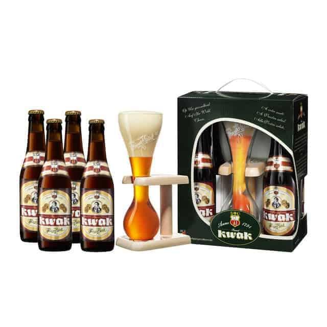 Pack kwak cervezas + vaso