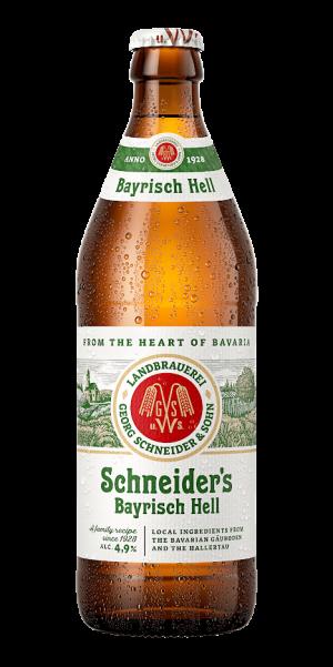 cerveza Schneider bayrich hell 50 cl
