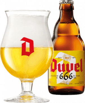 cerveza belga duvel 666