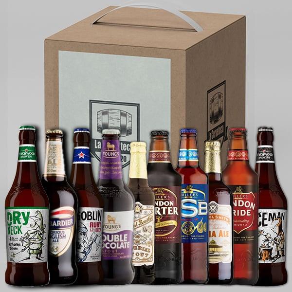 pack de cervezas inglesas